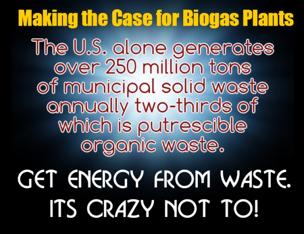 the case for biogas plants